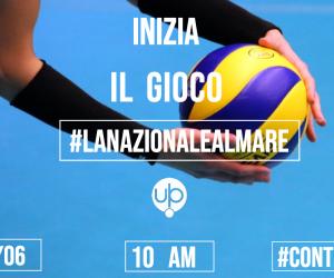 Vinci i biglietti della Nazionale di Volley a Civitanova #LaNazionaleAlMare