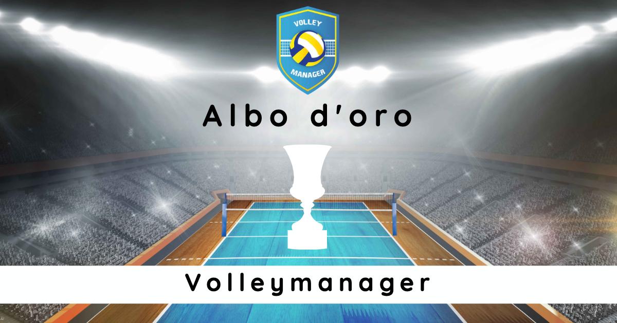 Albo d'oro Campioni del VolleyManager